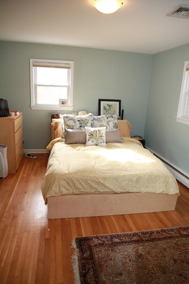food laughter and happily ever after master bedroom