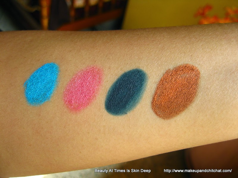 Gide on eye pencil swatches