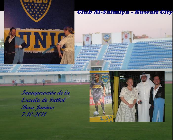 Escuela de Futbol Boca Juniors en Kuwait