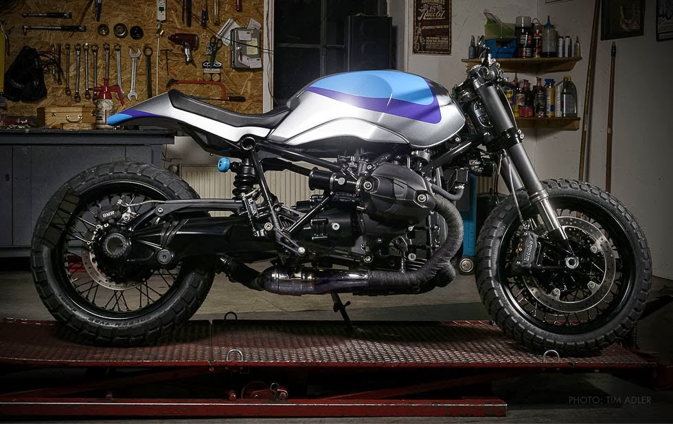 Kustom Pertama Dari BMW R NineT 2014 Otomotif Sepeda