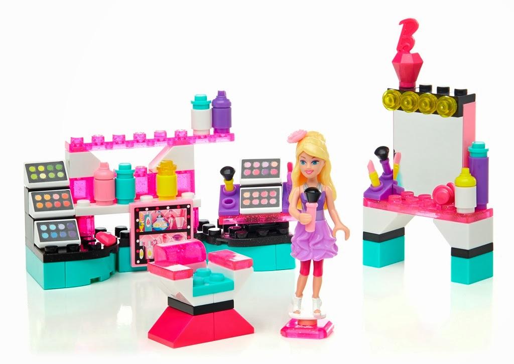 Barbie Angolo della Bellezza Mega Bloks Costruzioni Bambina