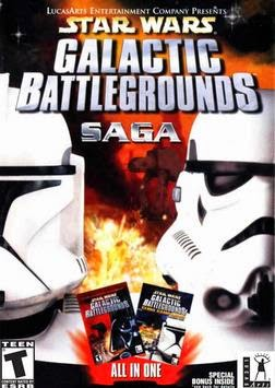 PC Games Star Wars Galactic Battlegrounds Saga