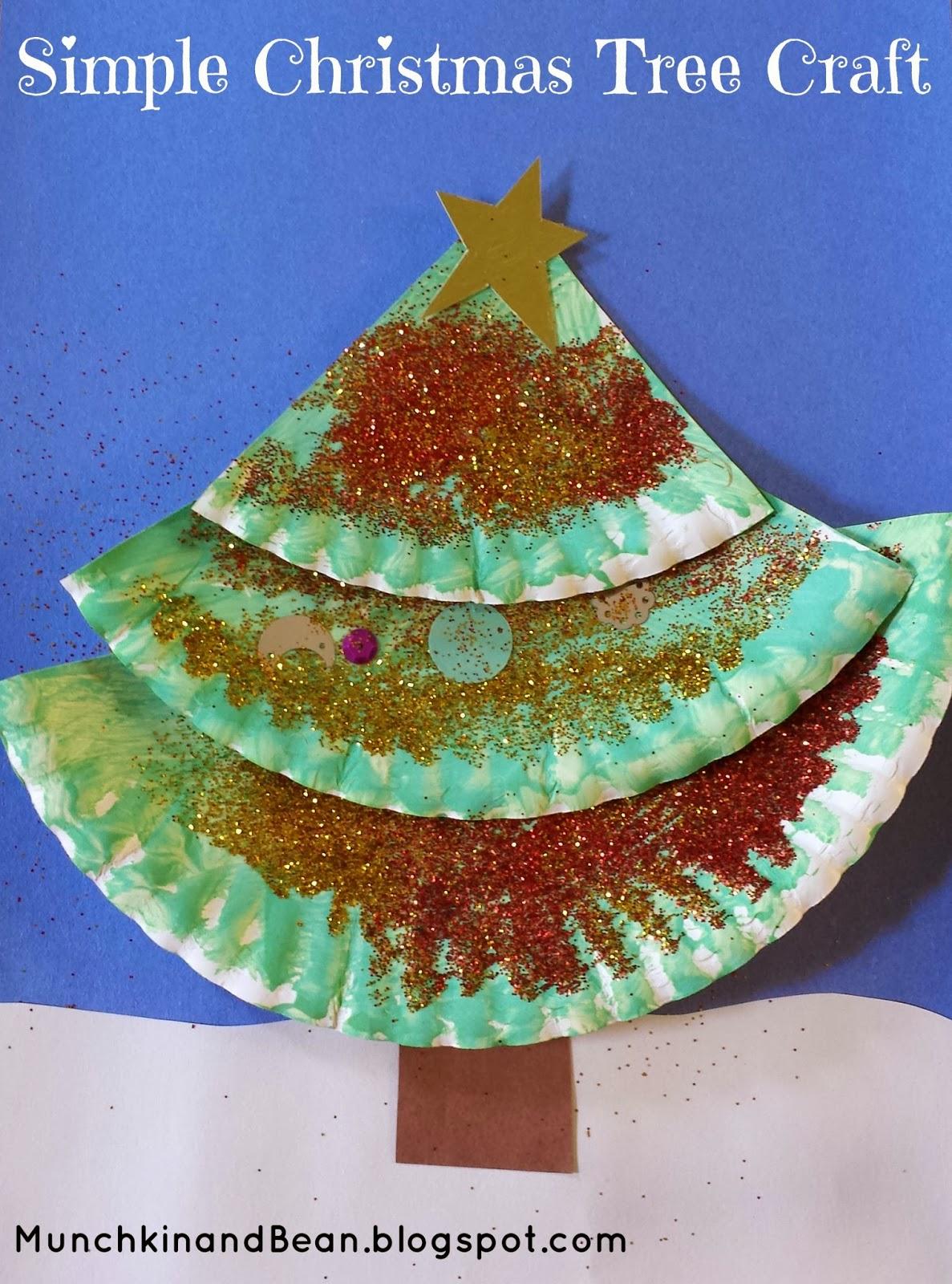 Simple Christmas Tree Craft