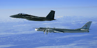 Tu-96 & F-15 |