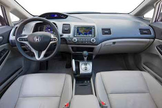 2011 honda civic interior
