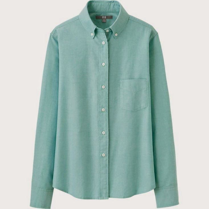 Edie's Closet, Uniqlo, Button Down for Fall