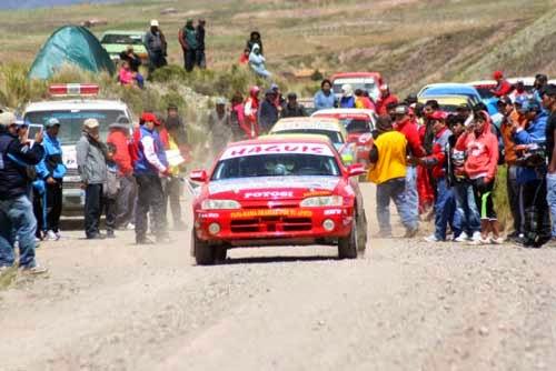 Tupiza albergará la tercera carrera de automovilismo