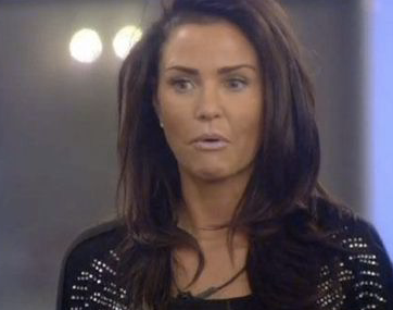 Katie Price Winner CBB