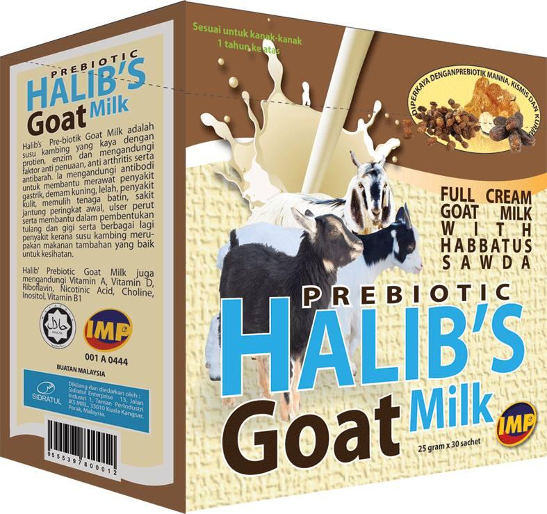 Prebiotic Halib's Goat Milk ~ Kohalalthoyibba E-Shop