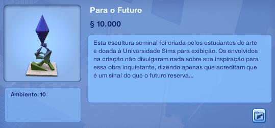 """Confirmado novo Pacote de Expanção The Sims 3 - """"Para o Futuro"""" Print-rumor-easter-egg-sims-4-sims-3-vida-universitaria-style"""