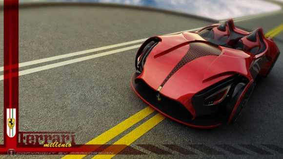 Ferrari: how it will look like in the future?