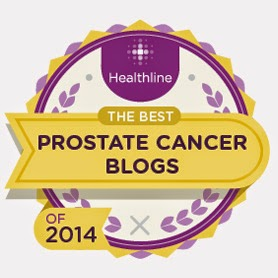 2nd in top ten prostate cancer blogs 2013/2014