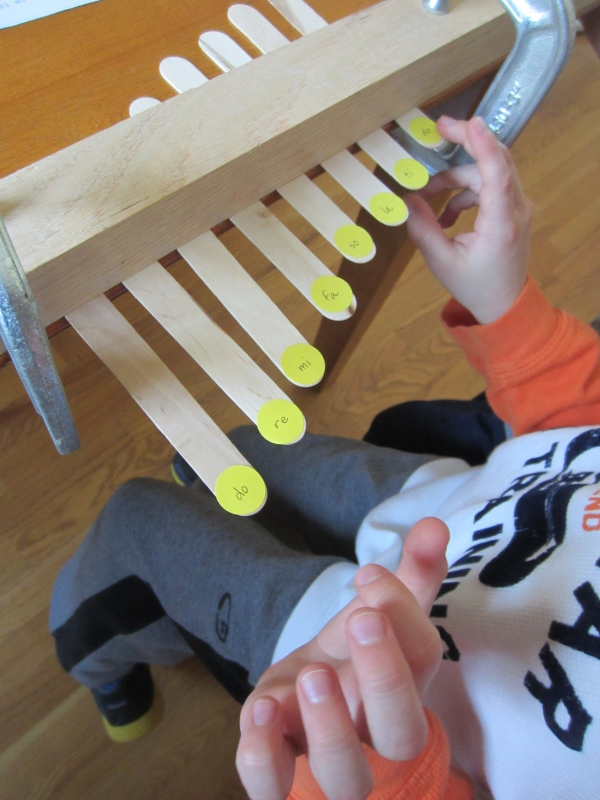 Relentlessly fun deceptively educational diy craft stick piano ccuart Image collections