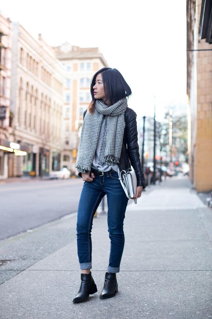 von vogue zara jacket and jeans