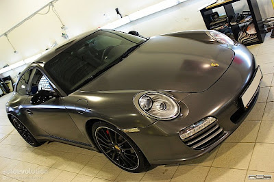 Porsche 911 (997) Carrera 4S Wrap: Graphite Metallic