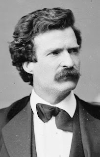 Photo of Mark Twain as Middle Age Man