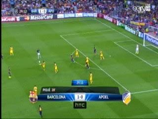 اهداف مبارة برشلونة و ابويل نيقوسيا 1-0  -الاربعاء 17-9-2014 دورى ابطال اوربا Barcelona vs APOEL goals
