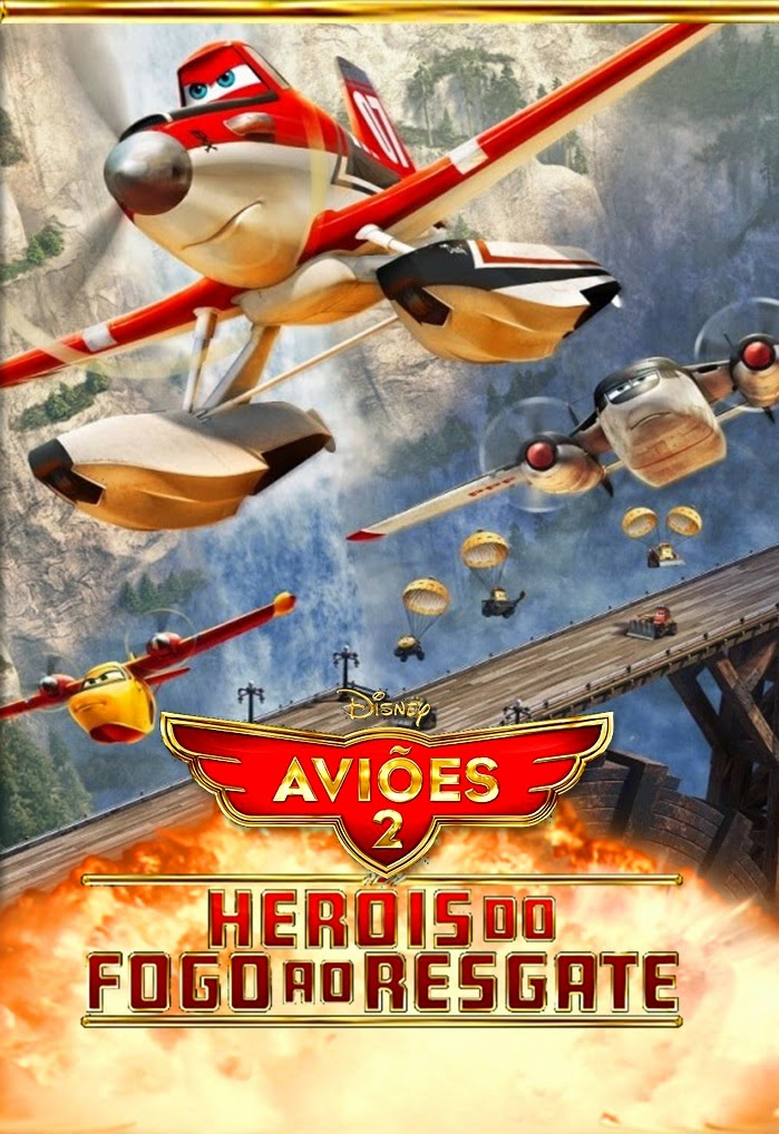 Aviões 2: Heróis do Fogo ao Resgate – Dublado (2014)