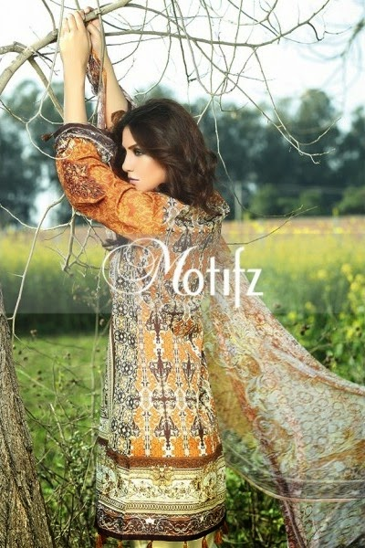 Motifz lawn new collection 2015