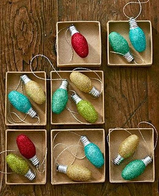 Imagenes de adornos navidenos hechos con reciclaje