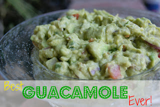 Best Guacamole Recipe Ever!!