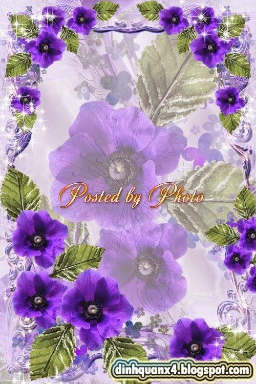 Photo frame - Flower romance