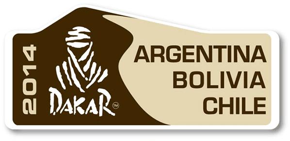 Logo oficial del Dakar 2014 - Vector