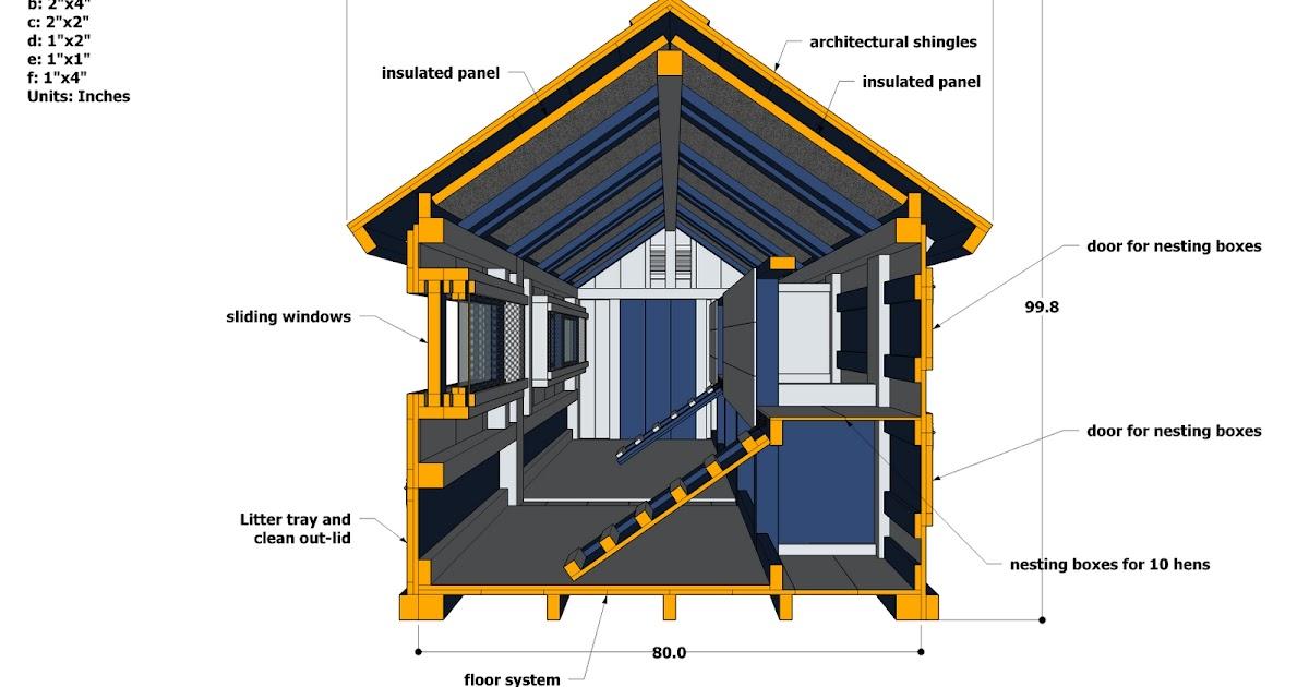 Coop plans download plans for chicken coop on wheels for Chicken coop plans free pdf
