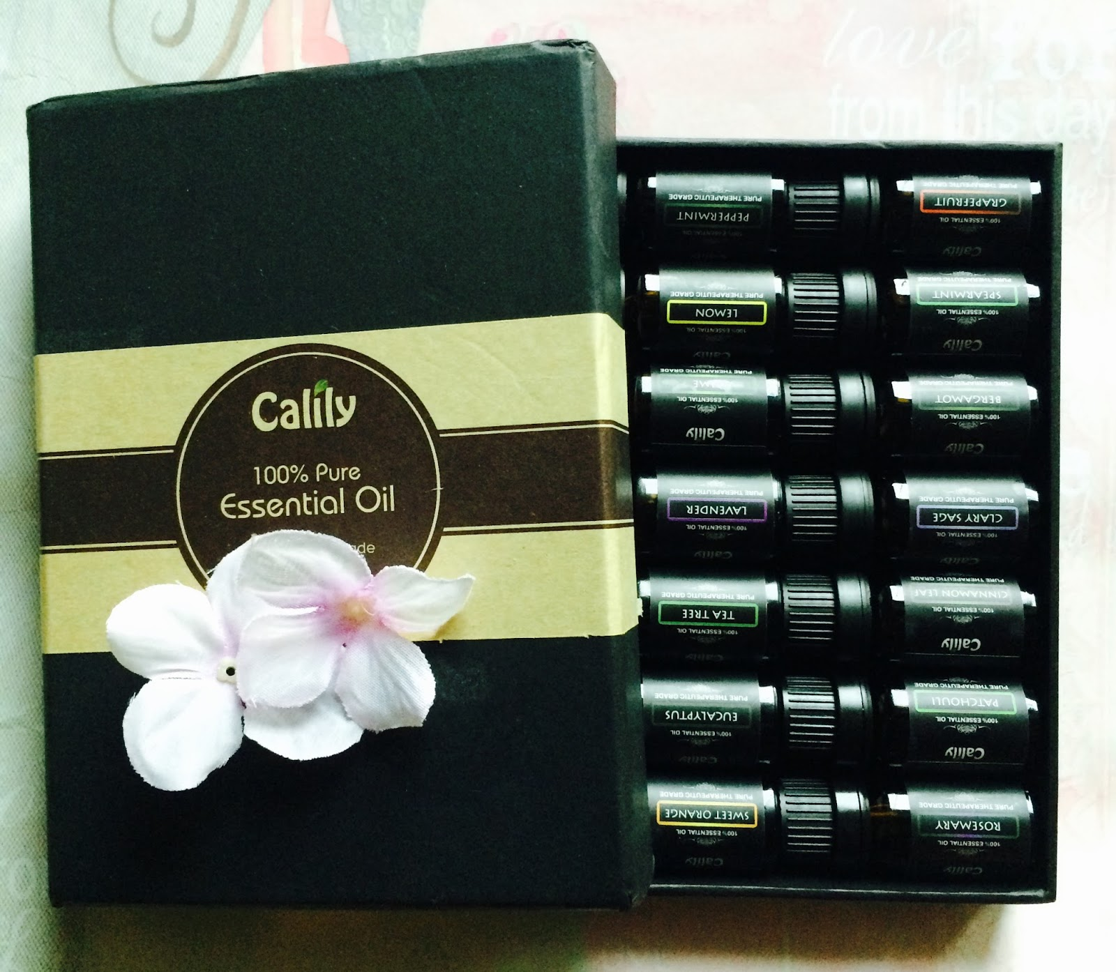 Essential Oil Gift Set from Calily! #Aromatherapy #StarterKit - My ...