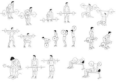 exemplo exercicios com barra