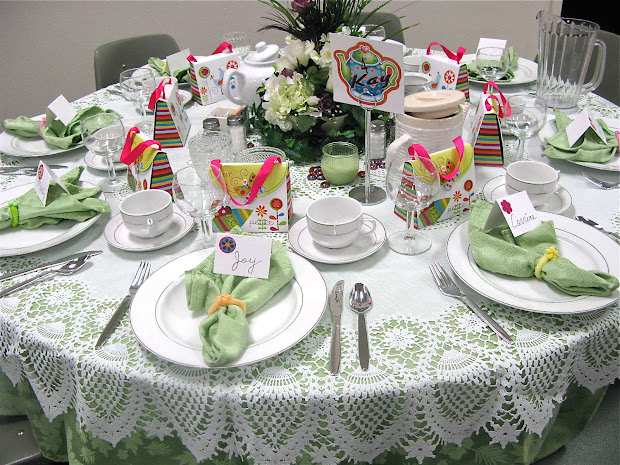 Tea Party Table Setting Ideas