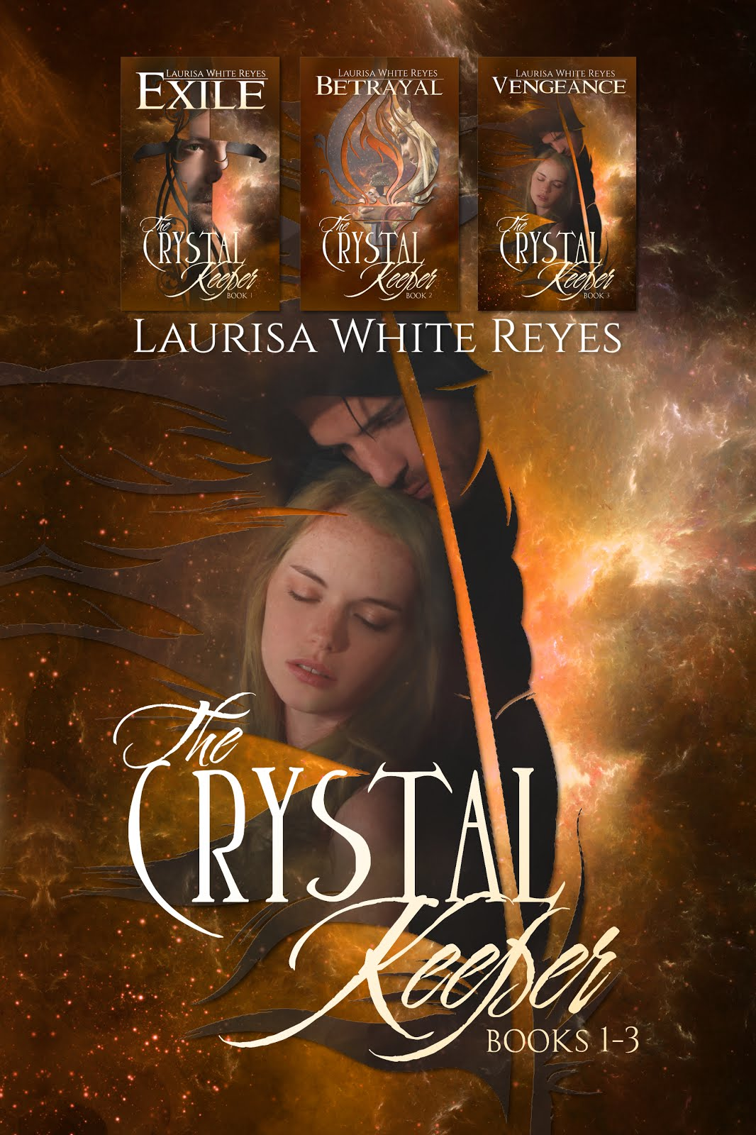 Subscribe to my newsletter & get THE CRYSTAL KEEPER OMNIBUS for FREE!