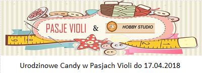 Urodzinowe candy Violi