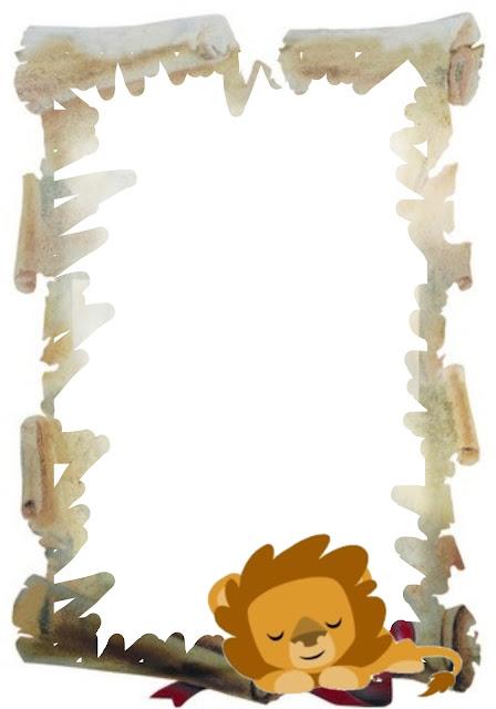 Caratulas escolares tipo pergamino - Imagui