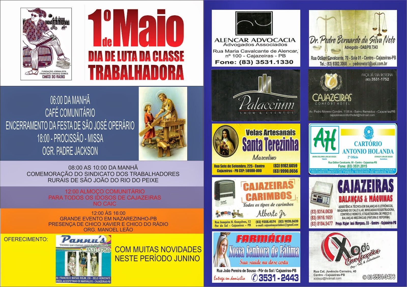 INICIAÇÃO DESTE PROJETO PRIMEIRO DE MAIO   A  15  DE SETEMBRO  2015