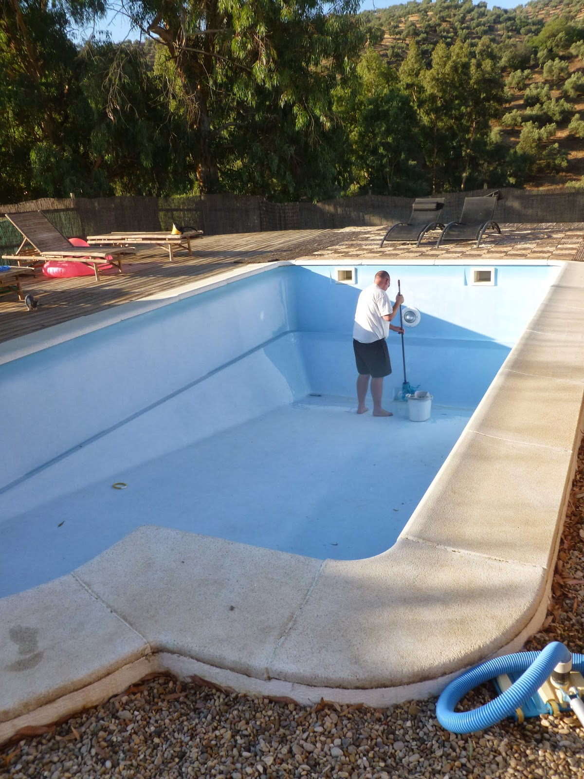 how to clear pool in 5 days