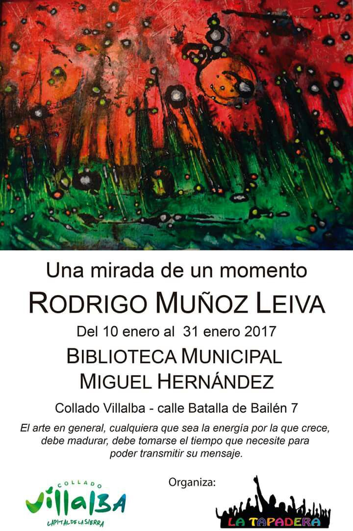 ARTISTA VISUAL RODRIGO MUÑOZ LEIVA