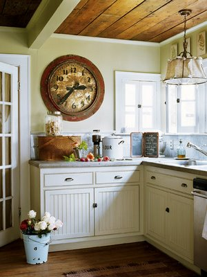 "Cameron & Co. ""The Well Dressed Home"": Farmhouse Kitchens and A"