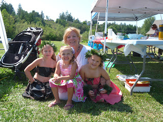 Our friend Maria grandmom of hula girls from CA