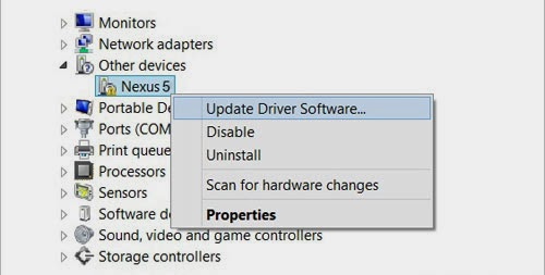 Nexus 5 Driver Installation Guide
