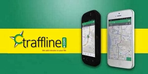 Traffline app for live traffic information on android, iOS and blackberry