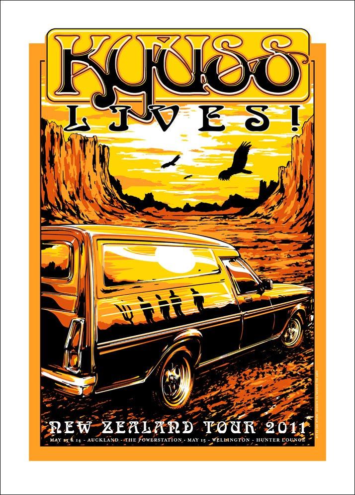 Kyuss Tour Poster