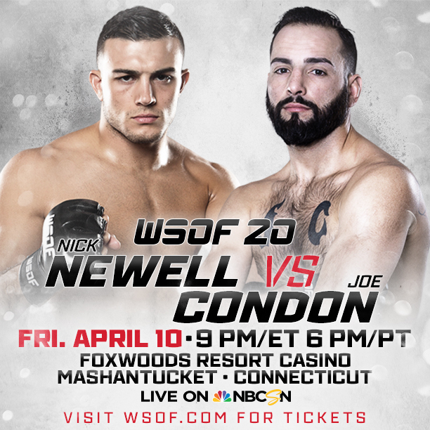 Nick Newell vs. Joe Condon Poster