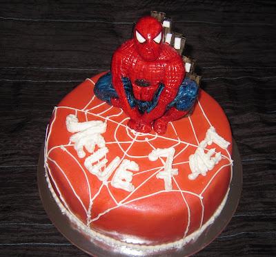 Торт от komashka торт детский спайдермен