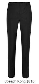 Sydney Fashion Hunter - She Wears The Pants - Joseph Kong Black Women's Work Pants