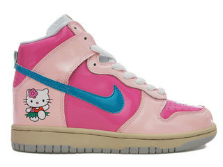 Hello Kitty Nike Tennis Shoes For Girls