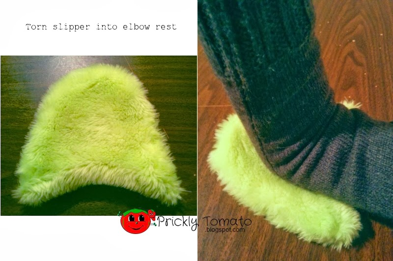 upcycle slipper