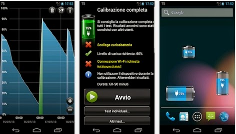 COME FARE PER RICALIBRARE LA BATTERIA DI UNO SMARTPHONE TABLET ANDROID
