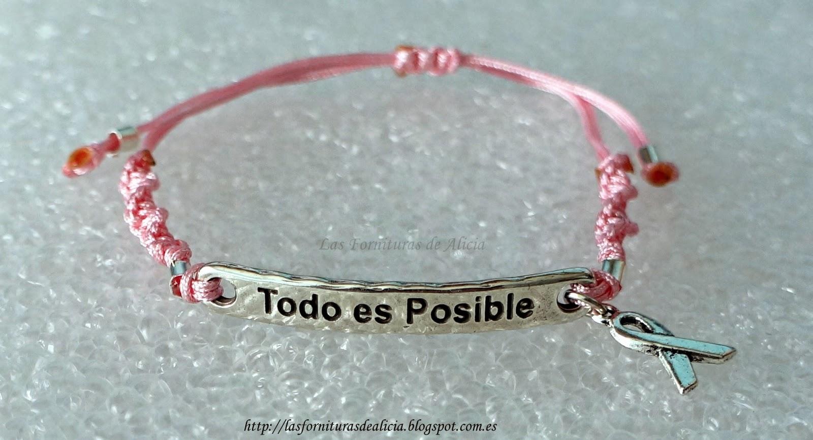 Especial contra el cancer de mama las fornituras de alicia - Aecc regalos boda ...