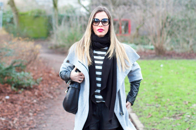 talita silverberg blogueira cinza couro preto oculos redondo